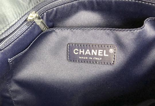 Chanel Shopping Fantasy Tweed Cc Quilted Runway Tote in NAVY BLUE Image 8
