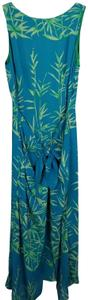Turquoise & Green Maxi Dress by Donna Morgan