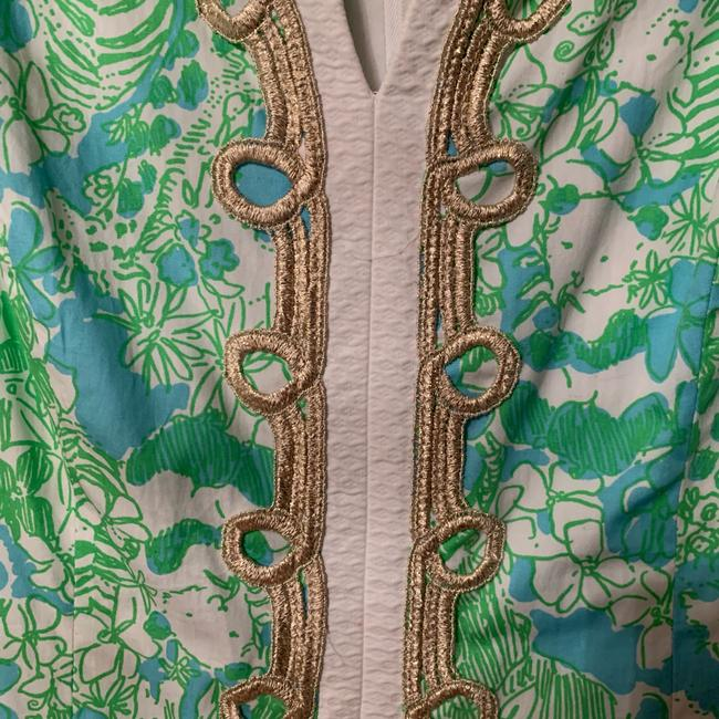 Lilly Pulitzer short dress green and blue on Tradesy Image 4
