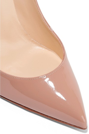 Christian Louboutin Pigalle Follies nude patent Pumps Image 1