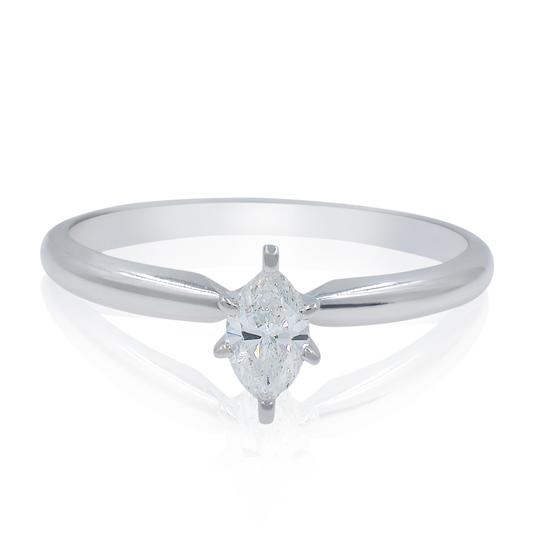 Preload https://img-static.tradesy.com/item/25709118/14k-white-gold-ladies-marquise-diamond-solitaire-engagement-027cts-ring-0-0-540-540.jpg