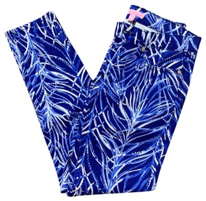 Lilly Pulitzer Straight Pants blue