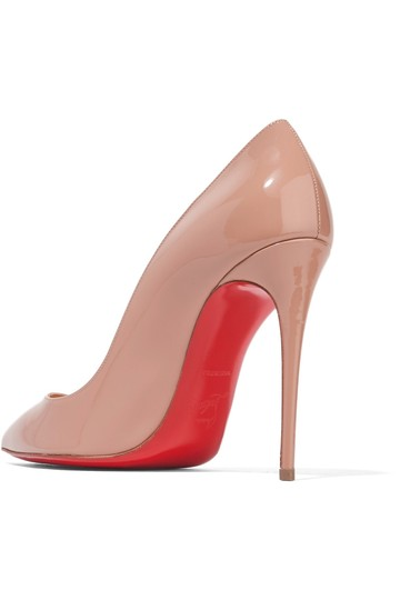 Christian Louboutin Pigalle Follies nude patent Pumps Image 2