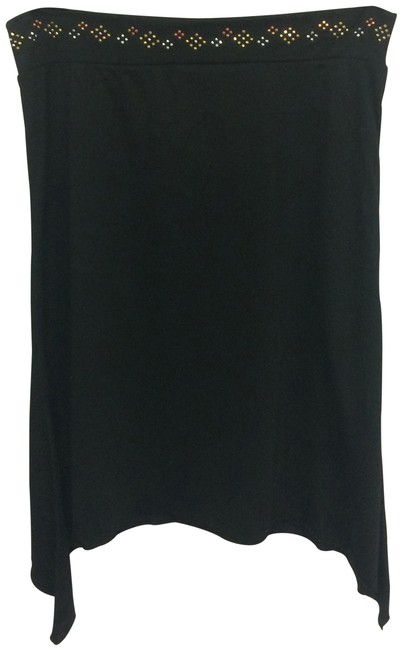 Preload https://img-static.tradesy.com/item/25709221/black-geometric-beaded-band-skirt-size-12-l-32-33-0-1-650-650.jpg