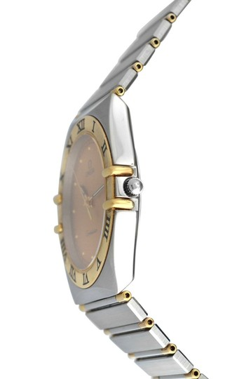 Omega Men's Unisex Omega Constellation 396.1070 Half Bar Gold 32MM Quartz Image 1