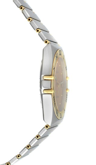 Omega Men's Unisex Omega Constellation 396.1070 Half Bar Gold 32MM Quartz Image 2