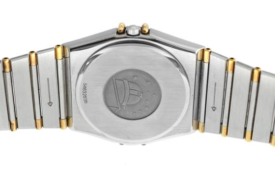 Omega Men's Unisex Omega Constellation 396.1070 Half Bar Gold 32MM Quartz Image 3