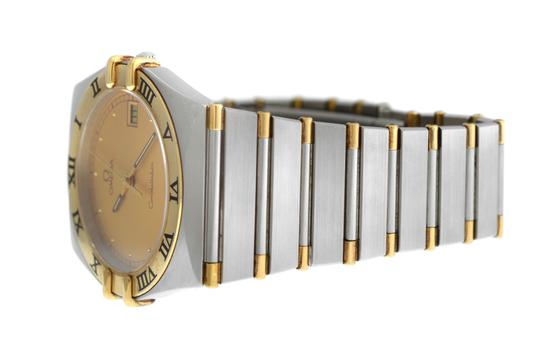 Omega Men's Unisex Omega Constellation 396.1070 Half Bar Gold 32MM Quartz Image 5