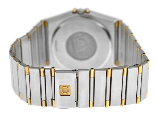 Omega Men's Unisex Omega Constellation 396.1070 Half Bar Gold 32MM Quartz Image 6