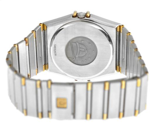Omega Men's Unisex Omega Constellation 396.1070 Half Bar Gold 32MM Quartz Image 7