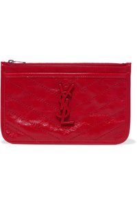 Saint Laurent Brand New - Saint Laurent Niki Leather Pouch