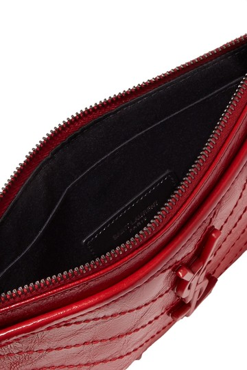 Saint Laurent Brand New - Saint Laurent Niki Leather Pouch Image 2