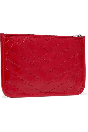Saint Laurent Brand New - Saint Laurent Niki Leather Pouch Image 3