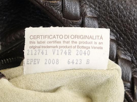 Bottega Veneta Leather Braided Intrecciato Hobo Bag Image 8