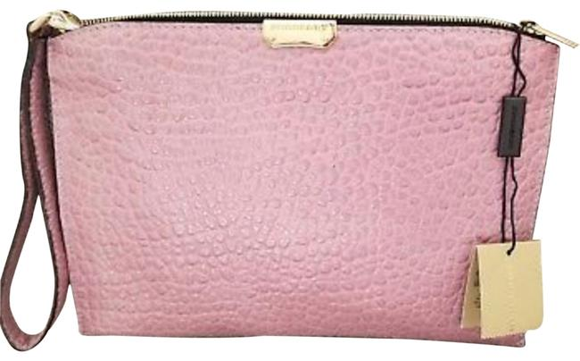 Item - Clutch Embossed Pebble New Blush Leather Wristlet