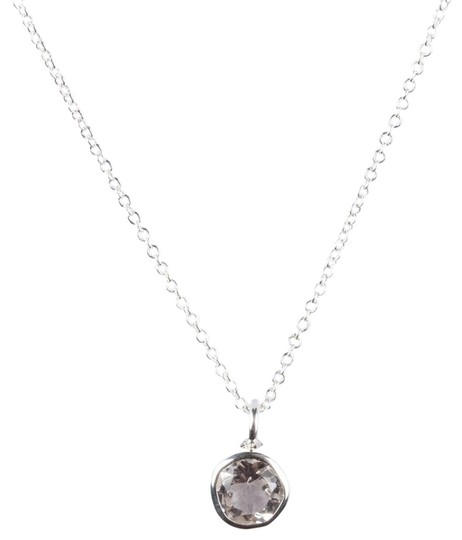 Preload https://img-static.tradesy.com/item/25709481/925-silver-sterling-faceted-rock-crystal-clear-quartz-april-astrology-pend-necklace-0-1-540-540.jpg