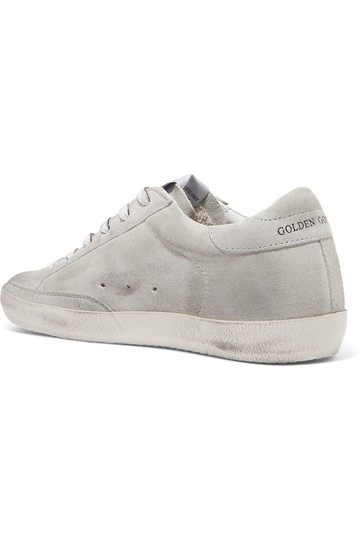 Golden Goose Deluxe Brand Leather Suede gray, white Athletic Image 2