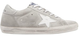Golden Goose Deluxe Brand Leather Suede gray, white Athletic