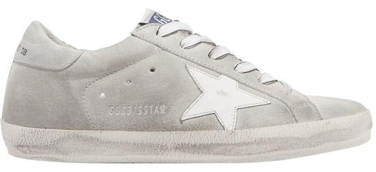 Golden Goose Deluxe Brand Leather Suede gray, white Athletic Image 0