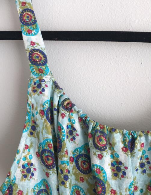 Calypso St. Barth short dress blue and green on Tradesy Image 5