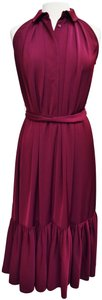 Magenta Maxi Dress by Hobbs London Belted Maxi