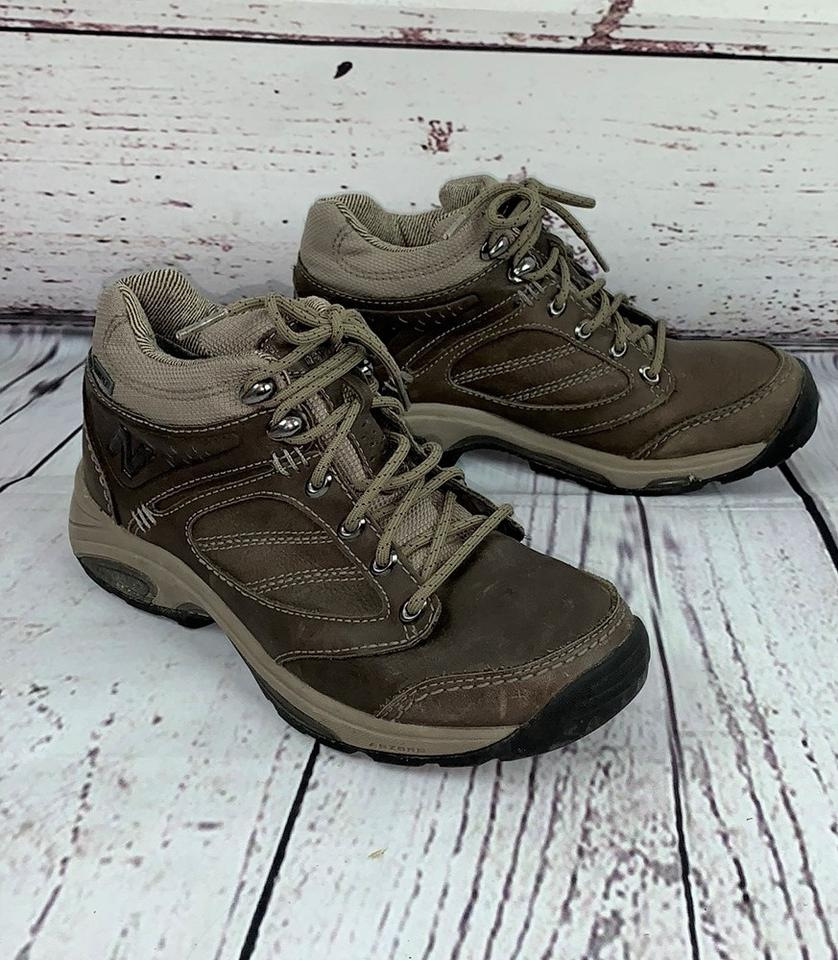 e13eff942f38a New Balance Lace-up Gore-tex Hiking Trail Outdoors Brown, Beige Boots Image  ...