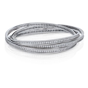 Cartier Trinity Full Circle 18K Bangle Slip On 6.45cts