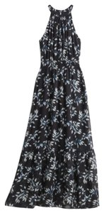 Black Floral Maxi Dress by Collective Concepts Maxi Party