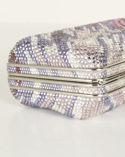 Judith Leiber silver Clutch Image 5