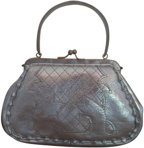 Anthony Luciano Silver Clutch