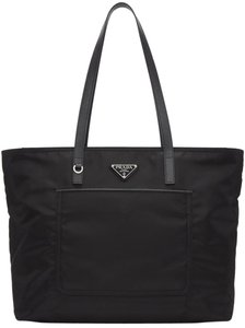 Prada Nylon Summer Tote in Black