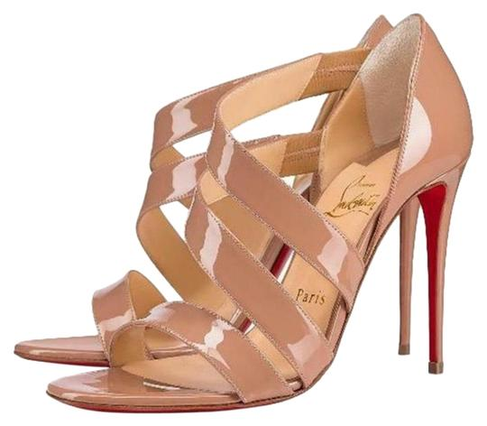 Preload https://item1.tradesy.com/images/christian-louboutin-nude-world-copine-patent-strappy-stiletto-sandal-pumps-size-eu-375-approx-us-75--25711880-0-1.jpg?width=440&height=440
