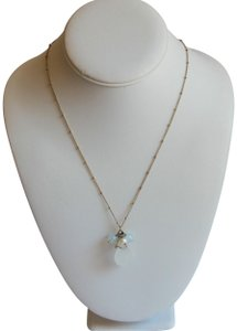 Avon Beautiful Delicate Avon NR Gold Bead Station Chain Necklace