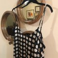 Walter by Walter Baker Black and White Effie Dot Sleeveless Mid-length Night Out Dress Size 4 (S) Walter by Walter Baker Black and White Effie Dot Sleeveless Mid-length Night Out Dress Size 4 (S) Image 6