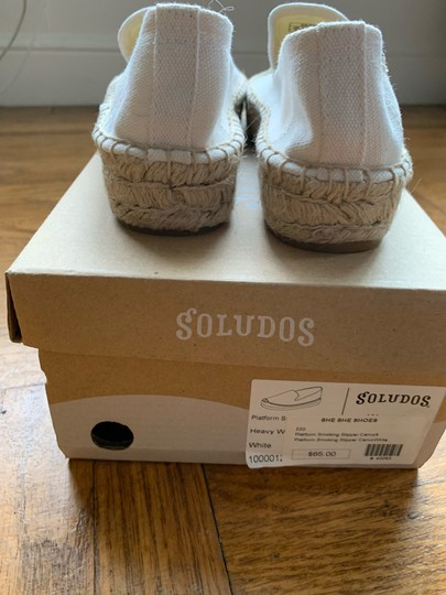 Soludos White Athletic Image 5