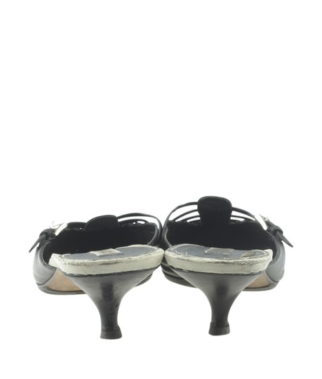 Prada Leather Black Mules Image 5