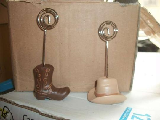 Preload https://item1.tradesy.com/images/brown-cowboy-boot-and-hat-picture-holders-reception-decoration-257130-0-0.jpg?width=440&height=440