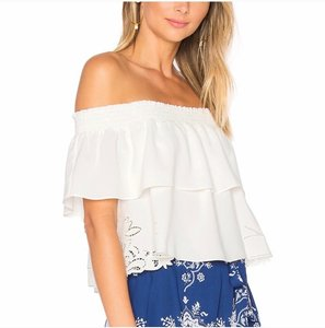 Lovers + Friends Top White