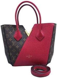Louis Vuitton Lv Kimono Pm Monogram Satchel in Brown and Red