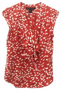Marc by Marc Jacobs Top red & white