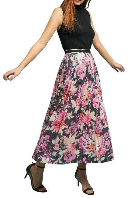 Item - Multicolor Pleated Sequin By Maeve Skirt Size 8 (M, 29, 30)