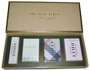 Burberry BURBERRY PARFUMS 4 Fragrance Coffret Set Limited Edition Gift Box