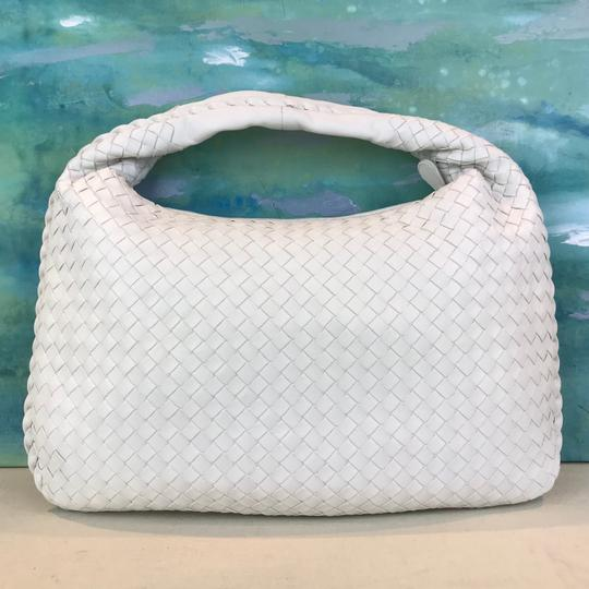 Bottega Veneta Intrecciato Woven Leather Hobo Bag Image 1