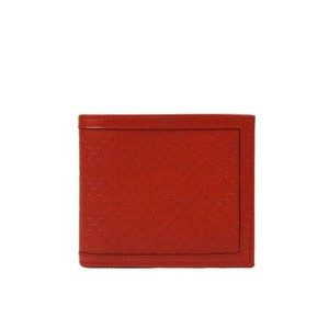 Gucci Red Hillary Lux Leather Bifold Wallet 225826 6516 Groomsman Gift