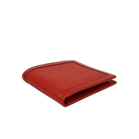 Gucci Red Hillary Lux Leather Bifold Wallet 225826 6516 Groomsman Gift Image 2
