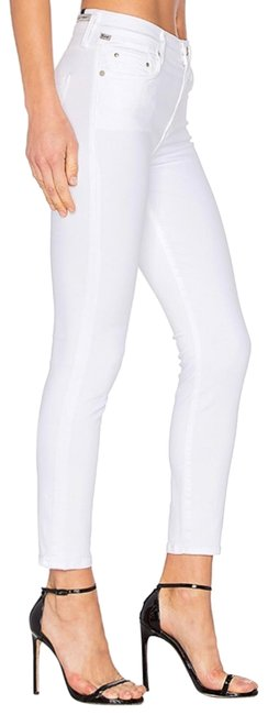 Item - White Rocket Crop High Rise Skinny Jeans Size 6 (S, 28)