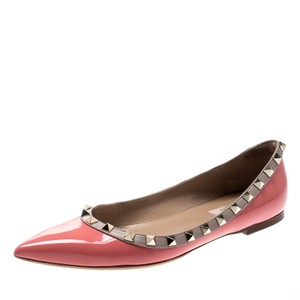 Valentino Leather Pink Flats