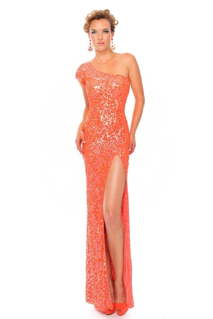 Item - Coral P9073/ Long Formal Dress Size 4 (S)