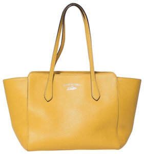 Gucci Swing Small Tote in Yellow