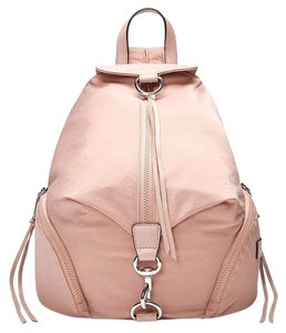 Rebecca Minkoff Nylon Leather Details Backpack